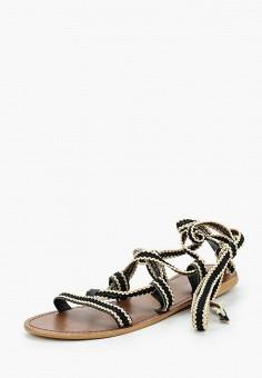 Сандалии, Topshop, цвет: черный. Артикул: TO029AWUBV11. Обувь / Сандалии