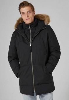 Куртка утепленная, Topman, цвет: черный. Артикул: TO030EMZVG71. Одежда / Верхняя одежда / Парки