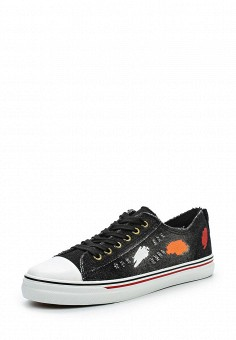 Кеды, Tony-p, цвет: черный. Артикул: TO041AWSES84. Обувь / Кроссовки и кеды