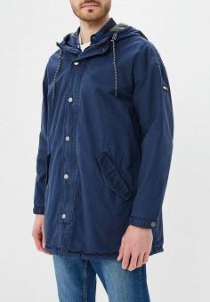 Парка, Tommy Jeans, цвет: синий. Артикул: TO052EMAIHP4. Одежда / Верхняя одежда / Парки