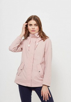 Куртка, Tom Tailor, цвет: розовый. Артикул: TO172EWATWX8. Одежда / Верхняя одежда / Легкие куртки и ветровки