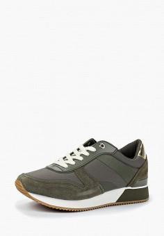 Кроссовки, Tommy Hilfiger, цвет: хаки. Артикул: TO263AWBHQU8. Обувь