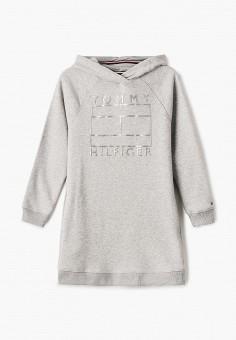 Платье Tommy Hilfiger KG0KG04895, цвет серый
