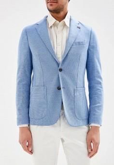 043b81dff81d Пиджак, Tommy Hilfiger, цвет  голубой. Артикул  TO263EMAGTP0. Одежда    Пиджаки