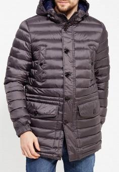 Пуховик, Tommy Hilfiger, цвет: серый. Артикул: TO263EMUFN60. Одежда / Верхняя одежда / Пуховики и зимние куртки