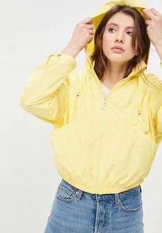 Ветровка, Tommy Hilfiger, цвет: желтый. Артикул: TO263EWAITQ4. Одежда / Верхняя одежда / Легкие куртки и ветровки