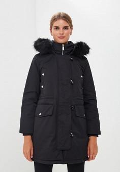 Парка, Tommy Hilfiger, цвет: черный. Артикул: TO263EWBWGP8. Одежда / Верхняя одежда / Зимние куртки