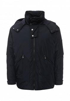 Куртка утепленная, Trussardi Collection, цвет: синий. Артикул: TR002EMXTC94. Мужская одежда / Верхняя одежда / Пуховики и зимние куртки