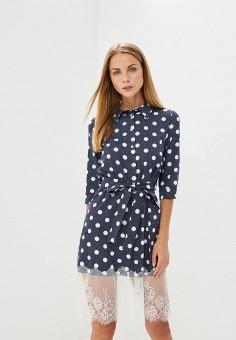 Платье, TrendyAngel, цвет: синий. Артикул: TR015EWBNBV2. Одежда / Платья и сарафаны