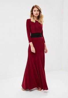 Платье, TrendyAngel, цвет: бордовый. Артикул: TR015EWBXVK1. Одежда