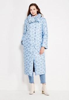 Куртка утепленная, TrendyAngel, цвет: голубой. Артикул: TR015EWWOV60. Одежда / Верхняя одежда / Пуховики и зимние куртки
