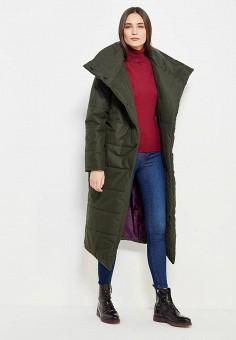 Куртка утепленная, TrendyAngel, цвет: зеленый. Артикул: TR015EWWOV63. Одежда / Верхняя одежда / Пуховики и зимние куртки