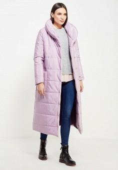 Куртка утепленная, TrendyAngel, цвет: фиолетовый. Артикул: TR015EWWOV64. Одежда / Верхняя одежда / Пуховики и зимние куртки