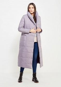 Куртка утепленная, TrendyAngel, цвет: фиолетовый. Артикул: TR015EWWOV65. Одежда / Верхняя одежда / Пуховики и зимние куртки