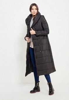 Куртка утепленная, TrendyAngel, цвет: черный. Артикул: TR015EWWOV67. Одежда / Верхняя одежда / Пуховики и зимние куртки