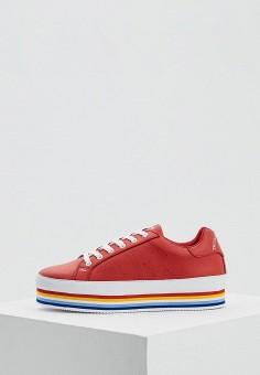 Кеды, Trussardi Jeans, цвет: красный. Артикул: TR016AWAEUF8. Обувь