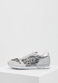 Кроссовки, Trussardi Jeans, цвет: серый. Артикул: TR016AWAEUQ4. Обувь