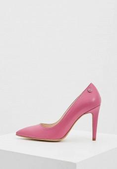 Туфли, Trussardi Jeans, цвет: розовый. Артикул: TR016AWAEUS5. Обувь