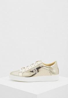Кеды, Trussardi Jeans, цвет: золотой. Артикул: TR016AWAEUT1. Обувь