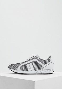 Кроссовки, Trussardi Jeans, цвет: белый. Артикул: TR016AWAEUT4. Обувь