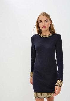 Платье, Trussardi Jeans, цвет: синий. Артикул: TR016EWBUVR3. Premium / Одежда / Платья и сарафаны