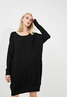 Платье, Trussardi Jeans, цвет: черный. Артикул: TR016EWBUVS0. Premium / Одежда / Платья и сарафаны