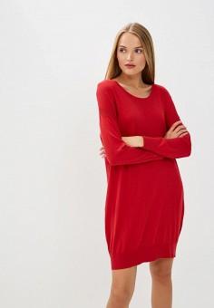 Платье, Trussardi Jeans, цвет: красный. Артикул: TR016EWBUVS1. Premium / Одежда / Платья и сарафаны