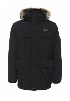 Пуховик, Trespass, цвет: черный. Артикул: TR795EMNIP37. Мужская одежда / Верхняя одежда / Пуховики и зимние куртки