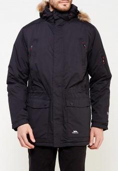 Куртка утепленная, Trespass, цвет: черный. Артикул: TR795EMWXO56. Одежда / Верхняя одежда / Пуховики и зимние куртки