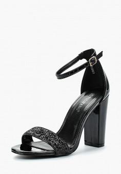 Босоножки, Tulipano, цвет: черный. Артикул: TU005AWBAOZ6. Обувь / Босоножки