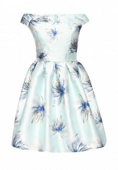 Платье, Tutto Bene, цвет: голубой. Артикул: TU009EWKQE37. Одежда / Платья и сарафаны