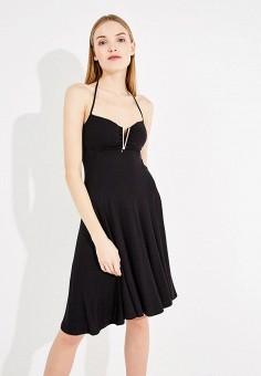 Платье пляжное, Twin-Set Simona Barbieri, цвет: черный. Артикул: TW005EWZLY71. Premium / Одежда / Платья и сарафаны