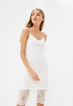 Платье, Twinset Milano, цвет: белый. Артикул: TW008EWBWOY9. Premium / Одежда / Платья и сарафаны