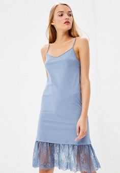 Платье, Twinset Milano, цвет: голубой. Артикул: TW008EWBWOZ0. Premium / Одежда / Платья и сарафаны