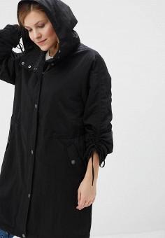 Парка, Ulla Popken, цвет: черный. Артикул: UL002EWAHHY0. Одежда / Верхняя одежда / Парки