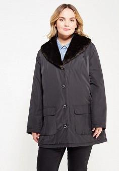 Куртка утепленная, Ulla Popken, цвет: черный. Артикул: UL002EWWCG74. Одежда / Верхняя одежда