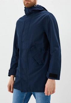 Парка, United Colors of Benetton, цвет: синий. Артикул: UN012EMACDD7. Одежда / Верхняя одежда / Парки