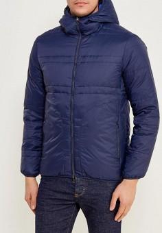 Пуховик, United Colors of Benetton, цвет: синий. Артикул: UN012EMZFQ15. Одежда / Верхняя одежда / Пуховики и зимние куртки