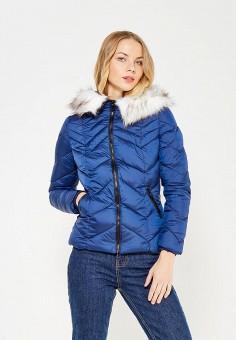 Куртка утепленная, Urban Bliss, цвет: синий. Артикул: UR007EWXBT30. Одежда / Верхняя одежда