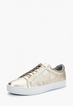 Кеды, Vagabond, цвет: золотой. Артикул: VA468AWAATJ2. Обувь