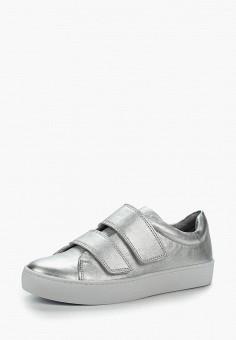 Кеды, Vagabond, цвет: серебряный. Артикул: VA468AWAATK2. Обувь