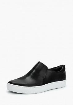 Слипоны, Vagabond, цвет: черный. Артикул: VA468AWAATL3. Обувь