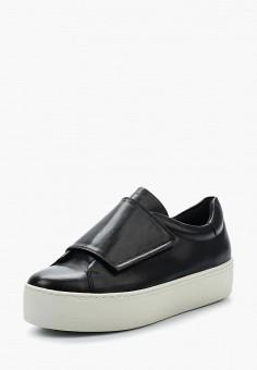 Кеды, Vagabond, цвет: черный. Артикул: VA468AWAATL6. Обувь