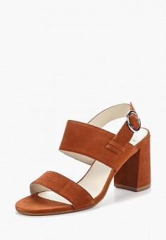 Босоножки, Vagabond, цвет: коричневый. Артикул: VA468AWAATM1. Обувь / Босоножки