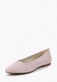 Балетки, Vagabond, цвет: розовый. Артикул: VA468AWAAUK5. Обувь