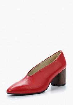 Туфли, Vagabond, цвет: красный. Артикул: VA468AWAAUL8. Обувь