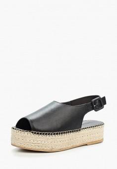 Эспадрильи, Vagabond, цвет: черный. Артикул: VA468AWAAUP1. Обувь