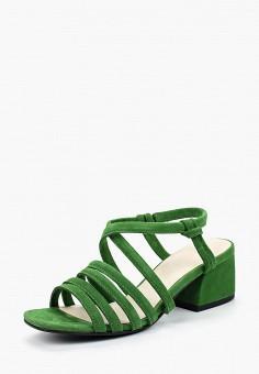 Босоножки, Vagabond, цвет: зеленый. Артикул: VA468AWAAUP5. Обувь
