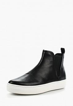 Слипоны, Vagabond, цвет: черный. Артикул: VA468AWAAUR7. Обувь