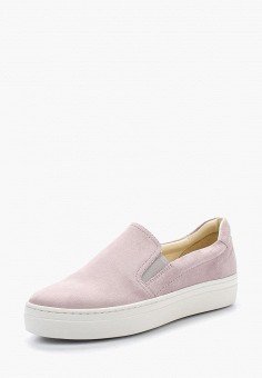 Слипоны, Vagabond, цвет: розовый. Артикул: VA468AWAAUR9. Обувь